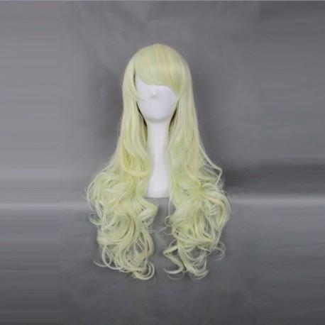 japan harajuku series light yellow womanliness cosplay wig