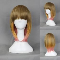 Japan Harajuku Series Farbe mischen BobHaircut Cosplay Wig