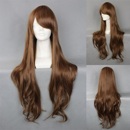 japan harajuku series brown cosplay wig
