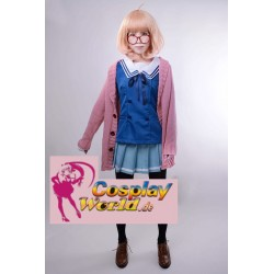 cosplay mirai shindou ayi beyond the boundary kuriyama sweater kostume
