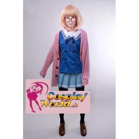cosplay mirai shindou ayi beyond the boundary kuriyama sweater kostume