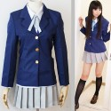 K-ON! HIRASAWA YUI SCHULUNIFORM COSPLAY KOSTÜM