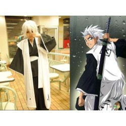 bleach 10th division captain kapitan toushiro hits cosplay kostum