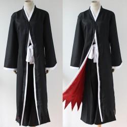 bleach ichigo kurosaki bankai mantal coat kostum