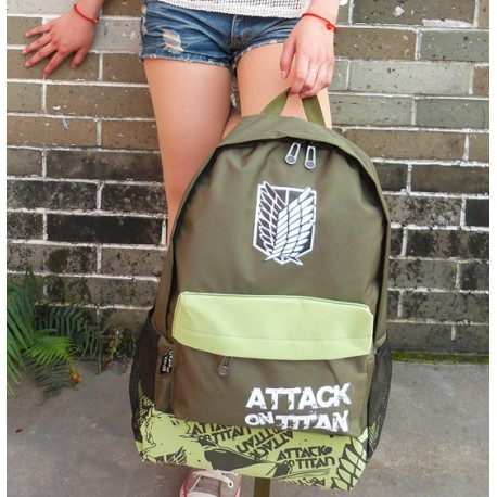 rucksack shingeki no kyojin attack on titan anime manga