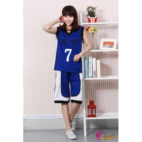 kaijo kaijo high jersey blau cosplay kuroko no basuke kuroko s basketball costumes