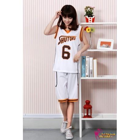 shutoku high kuroko no basuke kuroko s basketball trikot kostume weiss