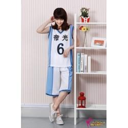 teiko middle teikokuroko no basuke kuroko s basketball trikot kostume weiss
