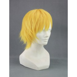 perucke kise ryota kuroko no basuke basketball cosplay perucke wig kurz blond gold