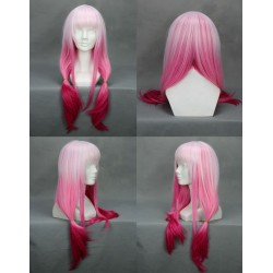 guilty crown yuzuriha inori cosplay perucke wig pink rosa