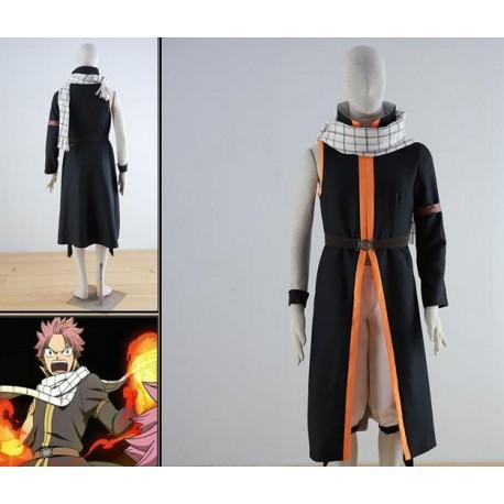 natsu dragneel 3 generation 7 jahre fairy tail new cosplay kostume