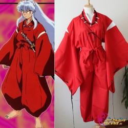 kagome higurashi inu yasha inuyasha rot kimono cosplay