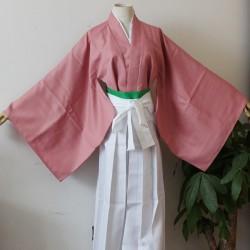 Hakuoki Shinsengumi Kitan Cosplay Kendo Kimono Chizuru Yukimura