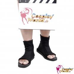 naruto ninja black shoes boots scarpa uzumaki konoha