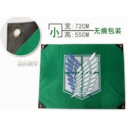 wall bannershingeki no kyojin attack on titan flag anime flag