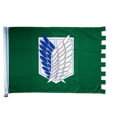 wall bannershingeki no kyojin attack on titan flag anime flag