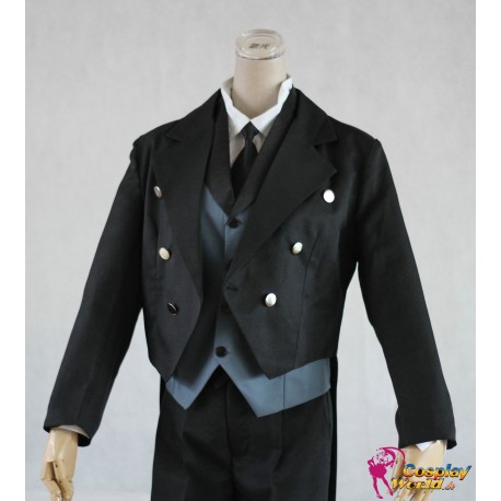 black butler sebastian cosplay kostum set 5 tlg anzug