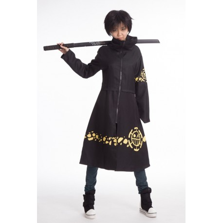 cosplay trafalgar law one piece costumes kostum mantel