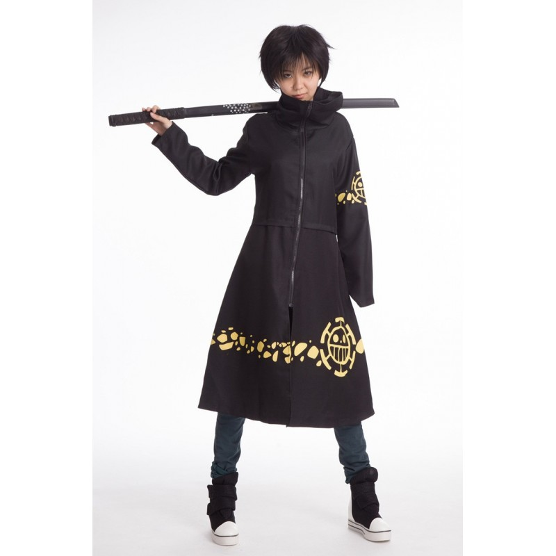Cosplay Trafalgar Law One Piece Anime Manga Costumes Kostüm Mantel
