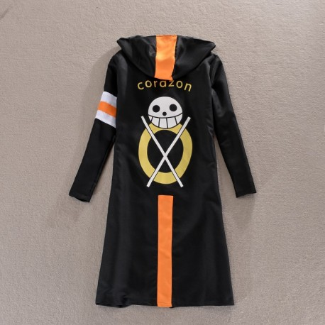 trafalgar law one piece 3 costumes kostum mantel