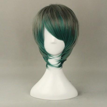 japan harajuku serie grau und grun perucke