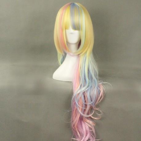 japan harajuku serie regenbogen perucke