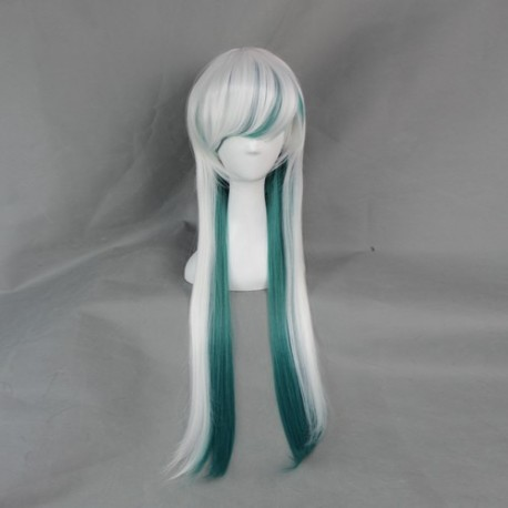 japan harajuku serie grune und weisse perucke