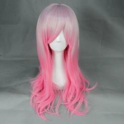 Japan Harajuku Serie rosa und weiße Perücke