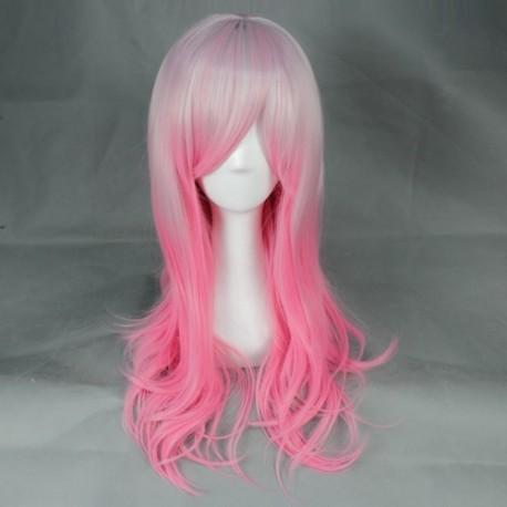 japan harajuku serie rosa und weisse perucke
