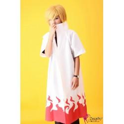 Naruto Shippuden Yondaime 4th Hokage Namikaze Minato Cosplay Umhang Kostüm Mantel