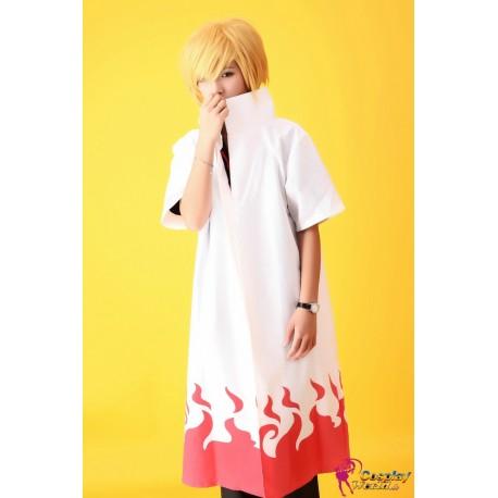 naruto shippuden yondaime 4th hokage namikaze minato cosplay umhang kostum mantel