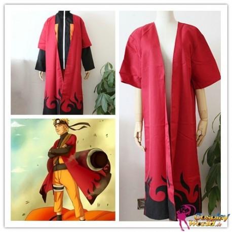 naruto shippuden uzumaki konoha 6th hokage cosplay kostume