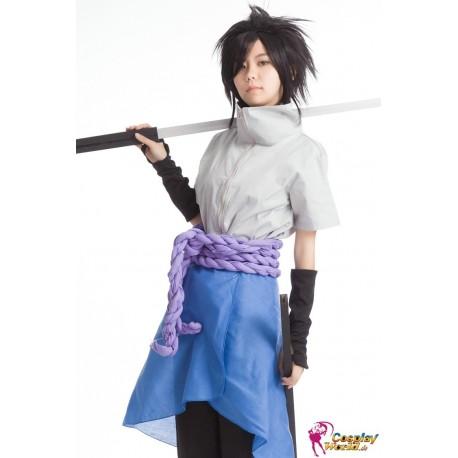 naruto sasuke uchiha cosplay kostum 3 anime blau und weiss