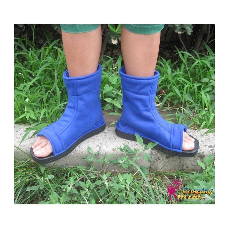 64ec65177b2a07 NARUTO Ninja Blaue Schuhe Stiefel Scarpa Uzumaki KONOHA
