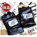 Naruto Handschuhe Anime Kakashi Cosplay Lederhandschuhe