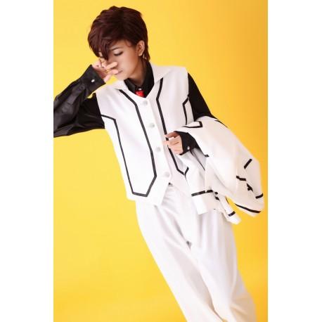 cosplay vampire knight kiryu zero night class uniform suit kostume anzug