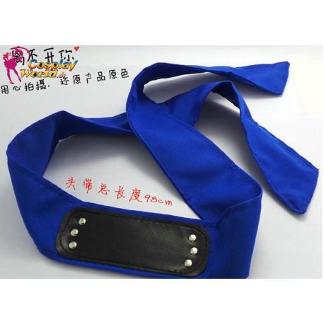 NARUTO Stirnband Sasuke Sakura kakashi Konoha NINJA Blau,Rot,Schwarz