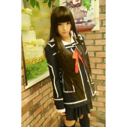cosplay vampire knight cross academy night class yuki dress costume black