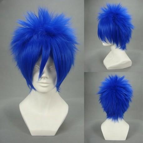 vocaloid kaito dunkel blau cosplay perucke kanerval perucken