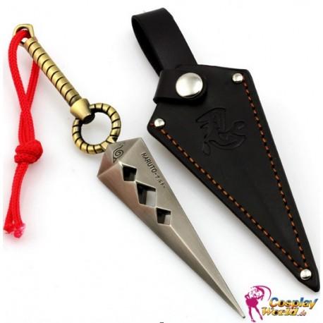2 teile naruto uzumaki kunai ninja shuriken waffen anhanger