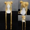 Sailor Moon Tsukino Usag gelbe 90cm Cosplay Perücke