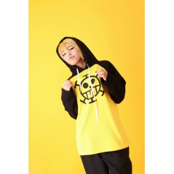 One Piece Trafalgar Law Cosplay Kapuzen T-Shirt Hoodie 100% Baumwolle