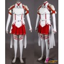 Anime Manga Sword Art Online Asuna Yuuki Cosplay kostüme