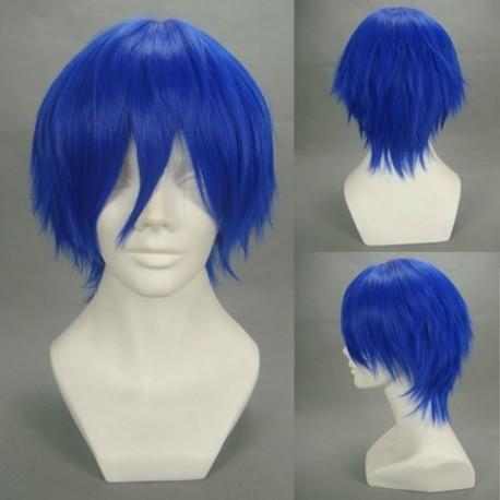 vocaloid kaito blaue cosplay perucke