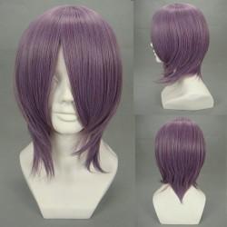 Miyako Yoshika lila Cosplay Perücke