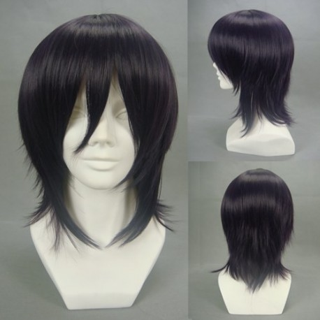 code geass lelouch lamperouge dunkellila cosplay perucke