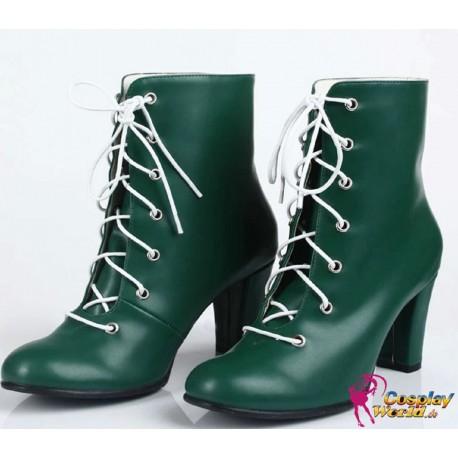 sailor moon sailor jupiter cosplay universal queen high heels shoes lita kino