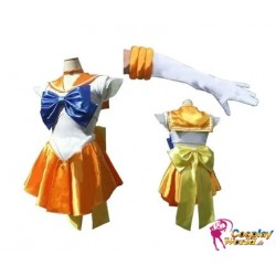 anime manga sailor moon sailor venus minako aino cosplay kostume