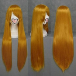 eva asuka orange cosplay wig