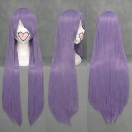 senjougahara hitagi lila cosplay perucke